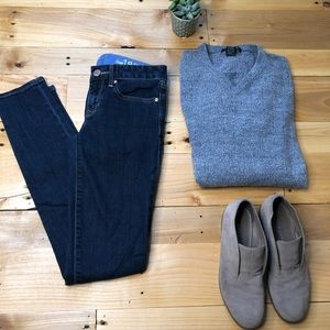 Gap 1969 Always Skinny EUC dark denim 24 00r